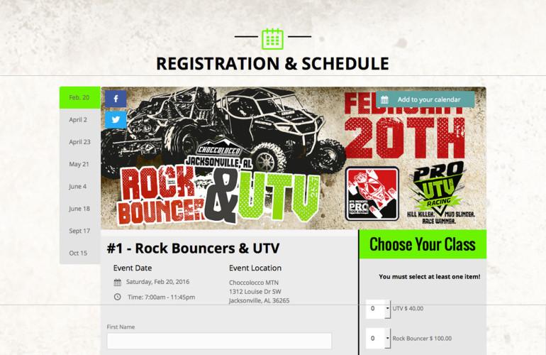 Pro Rock Website ScreenShot Complete 770x500