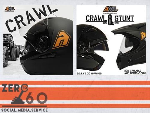 CRAWL STUNT Anzeige